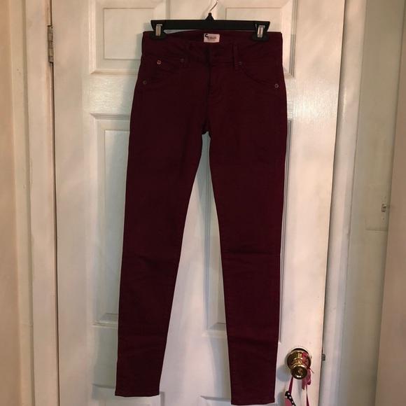 Hudson Jeans Denim - Hudson- Collin mid rise skinny jean